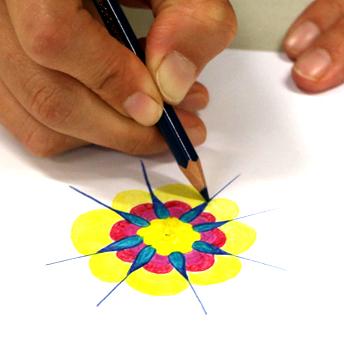 Lehrerfortbildung Mandala Malen - Mandala Design